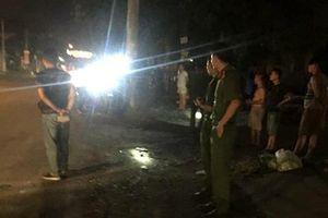 Hỗn chiến kinh hoàng sau va chạm giao thông, một người bị đâm tử vong tại chỗ
