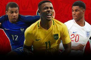 Rashford, Mbappe và những sao trẻ đáng xem nhất World Cup 2018
