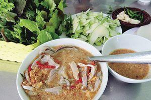 Hít hà gỏi cá ướt Đà Nẵng