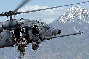 Trực thăng Mỹ tham gia hỗ trợ binh sĩ trong các cuộc tập trận