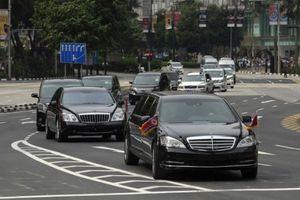 Ông Kim Jong-un sử dụng xe gì tại Singapore?