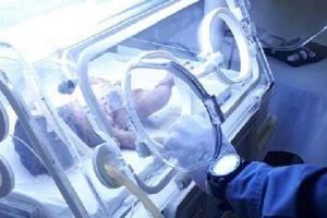 Cảnh sát giải cứu trẻ sơ sinh sau vài giờ bị chôn sống
