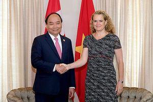 Hoạt động ngày đầu tiên của Thủ tướng Nguyễn Xuân Phúc tại Canada