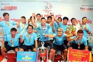 Câu lạc bộ phóng viên thể thao TP Hồ Chí Minh vô địch Press Cup 2018