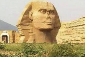 Ai Cập 'giận tím mặt' vì tượng Nhân sư nhái như thật tái xuất ở TQ