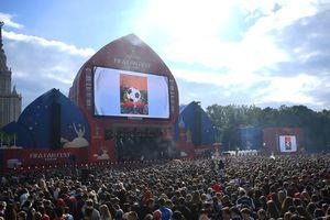 Bùng nổ ngày khai mạc Fan Fest Zone Moscow