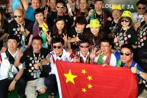 100 ngàn CĐV Trung Quốc ồ ạt sang Nga xem World Cup