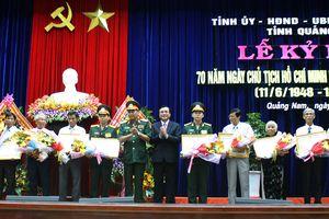 Quảng Nam kỷ niệm 70 năm Ngày Bác Hồ ra Lời kêu gọi thi đua ái quốc