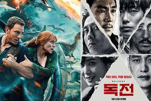 Sau 2 tuần đứng đầu phòng vé Hàn, 'Believer' nhường ngôi cho 'Jurassic World: Fallen Kingdom'