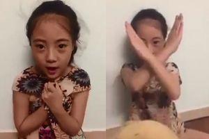 Bé gái 10 tuổi quay clip dạy cách đối phó 'yêu râu xanh' gây sốt cộng đồng mạng