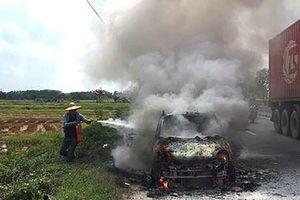 Liên tiếp xảy ra 2 vụ cháy xe ô tô tại Quảng Ninh