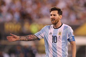 Messi lại để ngỏ ý định rời đội tuyển sau World Cup 2018