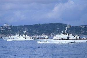 BPS-500 phối hợp tác chiến cùng Molniya 1241.RE và Gepard 3.9