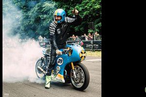 Triumph Thruxton R Phantom Blaze: Đẹp từng centimet với động cơ siêu nạp