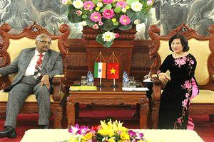 Phó Chánh án TANDTC Nguyễn Thúy Hiền tiếp Thẩm phán Tòa án Ấn Độ