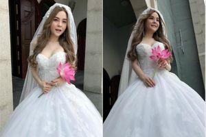 Saka Trương Tuyền khiến fan bất ngờ khi tung loạt ảnh cô dâu, hé lộ ngày cưới