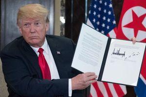 Tiết lộ 4 điểm 'đinh' ông Kim Jong-un ký với ông Trump