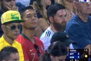 Messi, Ronaldo, Neymar 'phiên bản lỗi' xuất hiện cùng nhau