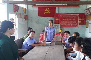 Viện Kiểm sát huyện Cái Nước xin lỗi công khai công dân vì gây oan sai