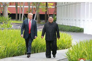 Báo Triều Tiên tràn ngập ảnh hai ông Trump - Kim tại hội nghị lịch sử