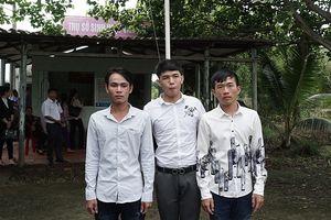 Ba người ở Cà Mau bị bắt giam oan hơn một năm được xin lỗi