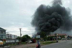 Hải Phòng: Nhà xưởng bốc cháy ngùn ngụt lúc sáng sớm