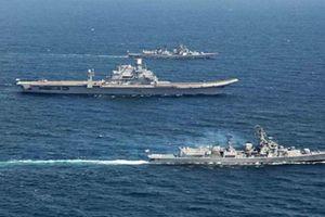 Nhóm tàu chiến Ấn Độ 'tố' bị hải quân Trung Quốc bám đuôi
