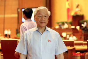 Tổng Bí thư Nguyễn Phú Trọng và ĐBQH TP Hà Nội chuẩn bị tiếp xúc cử tri