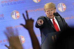 Tổng thống Trump nhầm lẫn sự thật lịch sử Mỹ - Triều?