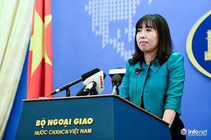 Yêu cầu Trung Quốc rút thiết bị quân sự tại Hoàng Sa