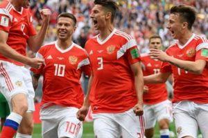 ĐT Nga thắng 'vùi dập' Ả Rập Saudi ở trận khai mạc World Cup 2018