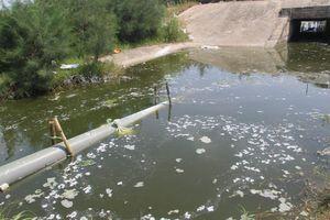 Hơn 1.000 m3 nước thải tràn ra môi trường gây ô nhiễm nặng