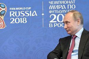 Tổng thống Putin đích thân dự lễ khai mạc World Cup 2018