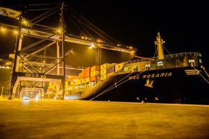 Cảng SSIT đón tàu container 5000 TEUs đầu tiên