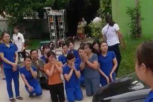 Các cô giáo quỳ xin chủ tịch thị trấn đừng đóng cửa trường: Luôn sẵn sàng tạo điều kiện để cơ sở mầm non hoạt động