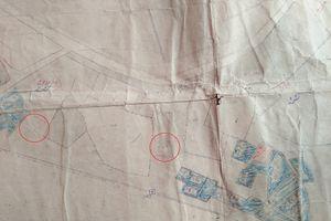 Tìm thấy bản đồ địa chính có liên quan lăng mộ các phi tần vua Tự Đức