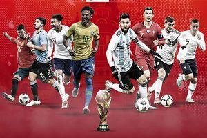 Hôm nay, 1 tháng sống cùng World Cup bắt đầu
