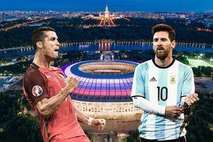 Ronaldo, Messi sẽ thể hiện tài năng ở sân nào tại World Cup?