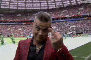 Fox News xin lỗi vụ ca sĩ Anh giơ 'ngón tay thối' tại lễ khai mạc World Cup