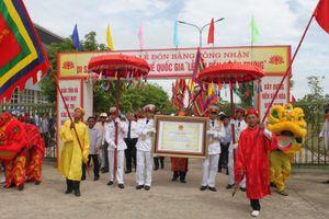 Tôn vinh nét đẹp văn hóa Lễ hội Đền Chiêu Trung