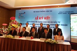 4 ngân hàng lớn tài trợ 6.800 tỷ làm cao tốc Trung Lương-Mỹ Thuận