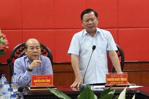 Thứ trưởng Bộ GTVT kiểm tra tiến độ dự án QL12B qua Ninh Bình
