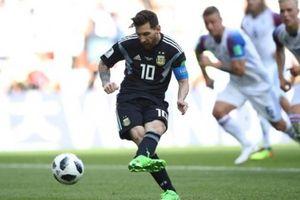 Khó tin với thống kê tệ hại của Messi trên chấm 11m