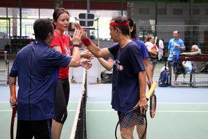 Gay cấn giải quần vợt Hội Nhà báo TP.HCM mở rộng 2018