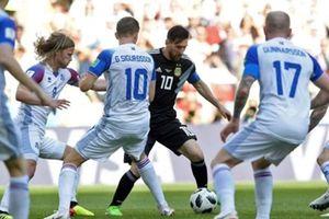 Argentina 1-1 Iceland: Ngày thất vọng của Messi
