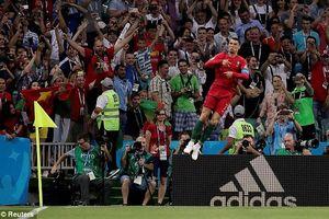 Kết quả World Cup 2018 ngày 15/6: Ronaldo lên tiếng giành điểm cho Bồ Đào Nha