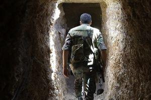 Quân đội Syria phát hiện đường hầm và hào của phiến quân ở Homs
