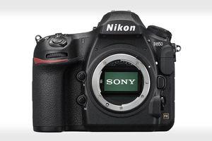 Cảm biến ảnh bên trong Nikon D850 được Sony sản xuất