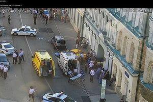 Nga: Taxi lao vào đám đông cổ động viên World Cup