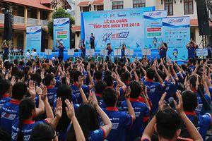 Hơn 20.000 sinh viên hào hứng tham gia tiếp sức mùa thi THPT Quốc gia 2018